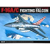 [Academy] Plastic Model Kit 1/48 SCALE F-16A/C FIGHTING FALCON (#12259A) /item# G4W8B-48Q59249