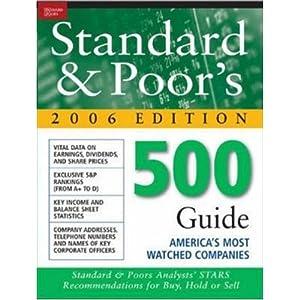 The Standard & Poor's 500 Guide - Standard & Poor's