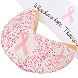 Lady Fortunes® Pink Ribbon Giant Fortune Cookie