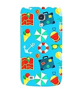 Sea Sailor Ship Travel 3D Hard Polycarbonate Designer Back Case Cover for Samsung Galaxy S4 Mini i9190