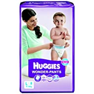 Huggies Wonder Pants Large Size Diapers (8 Count)