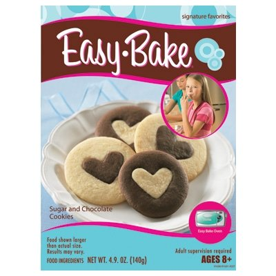 Hasbro Easy Bake Oven Sugar Cookie and Chocolate Cookie Mixes (Easy Bake Real Meal compare prices)