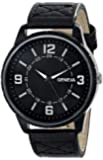 Geneva Men's 2393A-GEN Watch with Black Band