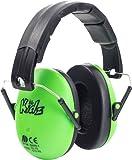 Kidz Kids Ear Defenders/Protectors Hearing Protection Green