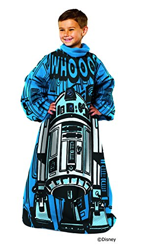 Star Wars Astromech Youth Comfy Throw with Sleeves
