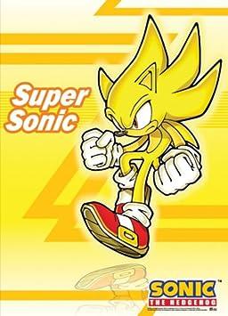 Sonic The Hedgehog - Super Sonic Wallscroll 112 x 84 cm US Import Original et Officiel avec LIVRAISON GRATUITE