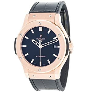Hublot Classic Fusion 18K Red Gold 45mm Swiss Automatic Men's Watch