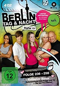 Berlin - Tag & Nacht - Staffel 13 (Folge 236-255) [Limited Edition] [4 DVDs]