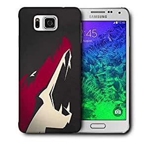 Snoogg Fox Roar Printed Protective Phone Back Case Cover For Samsung Galaxy SAMSUNG GALAXY ALPHA
