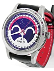 New Limited Edition Perrelet A1040/3 Moon Phase Ruby Diamond Watch
