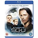 SGU Stargate Universe: The Complete First Season [Blu-ray] [Import]