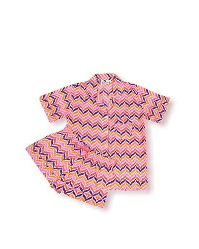 Malabar Bay Zig Zag Summer Pajama