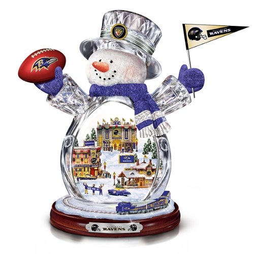 Figurine: Baltimore Ravens Figurine by The Bradford Exchange at Amazon.com