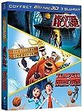 Tempête de boulettes géantes + Monster House + Les rebelles de la forêt - 3D active [Blu-ray 3D]