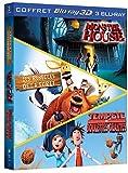 echange, troc Tempête de boulettes géantes + Monster House + Les rebelles de la forêt - 3D active [Blu-ray]