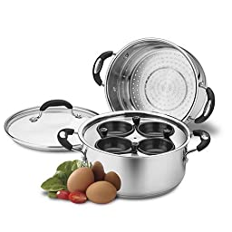 Weight Watchers WWS4-420MS Egg Poacher/Multi-Steaming Set