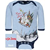 Old Glory Unisex-children Dr. Seuss - How The Grinch Stole Christmas Infant Bodysuit