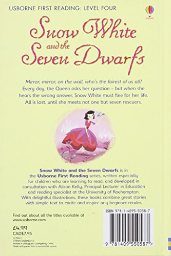 Snow White and the Seven Dwarfs (Usborne First Reading, Level Four)