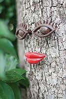 Shady Lady - Cast Iron Eyes and Lips from Kalalou