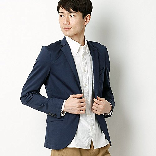 MKオム(MK homme) モクロディカルゼジャケット【55ブルー/46/M】