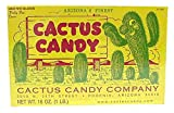 1 LB Box of Prickly Pear Cactus Candy
