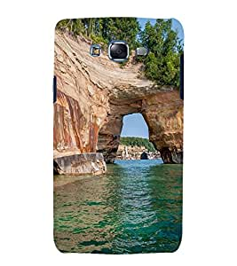 printtech Nature View Seawater Back Case Cover for Samsung Galaxy J7 (2016 )