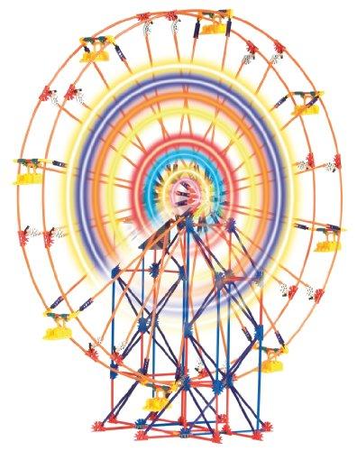 K Nex Thrill Rides Light Up Ferris Wheel