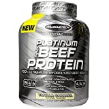 Muscletech Essential Series Hydrolyzed Beef Protein Supplement, Vanilla Caramel, 4.11 Pound