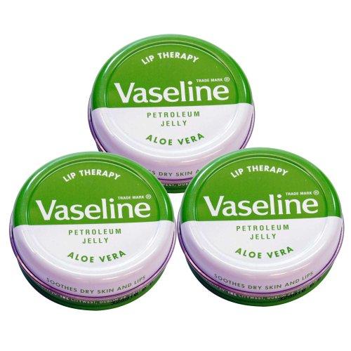Vaseline Lip Therapy ヴァセリン 20g Aloe 3個セット