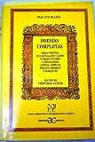 img - for Poesias Completas: Obras Propias En Castellano Y Latin Y Traducciones E Imitaciones Latinas, Griegas, Biblico-Hebreas Y Romances book / textbook / text book