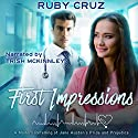 First Impressions: A Modern Retelling of Jane Austen's Pride and Prejudice Audiobook by Ruby Cruz Narrated by Trish Mckinnley