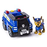 Paw Patrol Chase's Transforming Police Cruiser with Flip-open Megaphone, for Ages 3 and Up