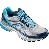 Brooks Women's Adrenaline GTS 13 Running Shoes, Color: DrkDenim/Wht/BachlorBttn/Slvr, Size: 10.0
