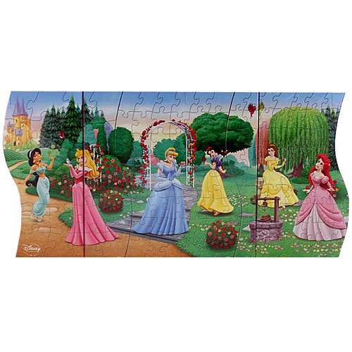 Cheap Cardinal Disney Princess 3 in 1 Panoramic Puzzle (B003NFH25K)