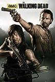 The Walking Dead Poster Rick Grimes & Daryl Dixon - Poster Großformat (61cm x 91,5cm) + 1 Überraschungsposter gratis!