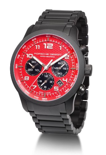 Porsche Design Men's Titanium Black PVD Automatic Swiss ETA 2894-2 Chronograph Watch 661217840243