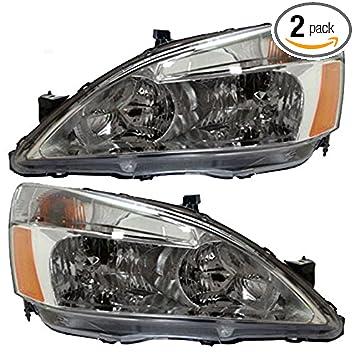 Genuine Honda Parts 33101-S84-A01 Passenger Side Headlight Assembly Composite