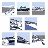 Pack of 8 blank, fine art greeting cards (Robin Hood's Bay, Scarborough, Staithes, Runswick Bay, Sandsend, Filey, Saltburn-by-the-Sea, Whitby)