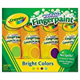 BIN550012 - Crayola Washable Fingerpaint Pack