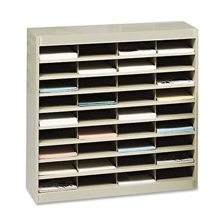 "Literature Organizer, 36 Cmprtmnt,37-1/2""x12-3/4""x36-1/2"",SD, Sold as 1 Each"