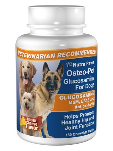 Osteo pet glucosamine w efa and msm 180 count