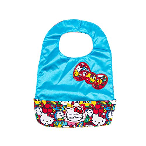 Ju-Ju-Be Hello Kitty Collection Be Neat Reversible Bib, Tick Tock - 1