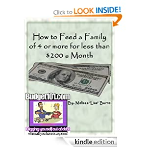 How to Feed a Family of 4 or More for Less than $200 a Month