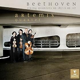 Beethoven : String Quartets Op.18/1 And Op.127 (Beethoven Volume 6)