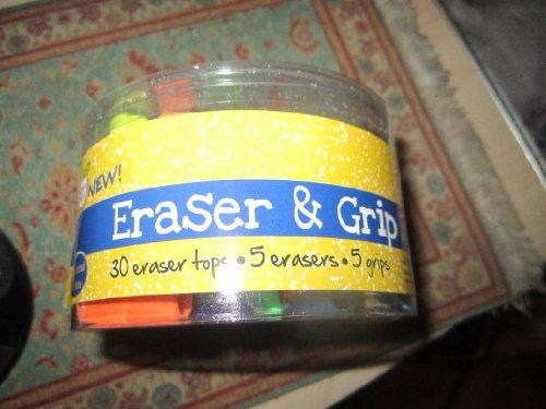 Teacher's Choice Eraser & Grip Set - 1
