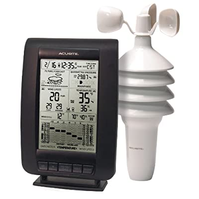 Acu-Rite 00634 Wireless Weather Station with Wind Sensor from Acu-Rite