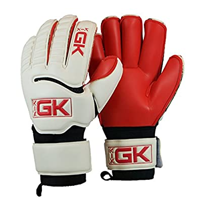 KixGK Fervor Goalkeeper Gloves (Sizes 5-12): High-Level Match Training Adult & Youth Soccer Goalie Gloves - Designed for Performance & Safety
