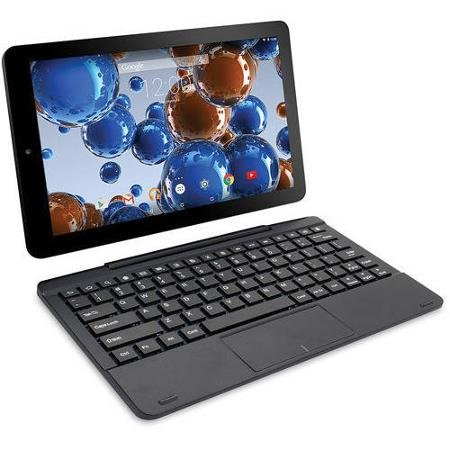 RCA RCT6303W87DK 10-Inch 32GB Tablet (Black) with Detachable Keyboard (10 Inch Tablet Quad compare prices)