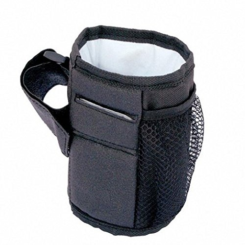 Idealgo Waterproof Bottle Cup Holder for Stroller Bottle Thermal Bag Baby Buggy Cup Holder Soft Buggy Cup for Stroller, Wheelchair, Rollator, Walker