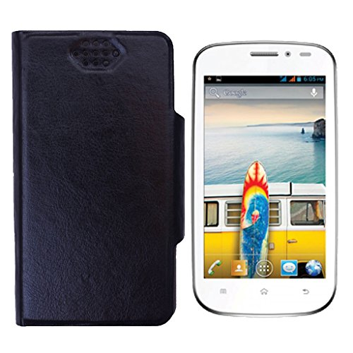 Shopme Flip cover for Micromax Bolt A71 (Black Color)(PU Leather, Access to all Ports, complete mobile Protection,Extremely durable)  available at amazon for Rs.209